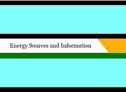 Energy Sources and Information - FreeEnergy2!